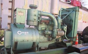 Onan Generator Supercharged Cummins Diesel Engine Low Hours Make Offer