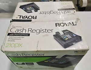 Royal 210dx Electronic Cash Register W Thermal Printer New In Open Box Free Ship