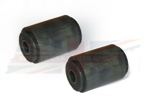 Brand New Pair Of Front Leaf Spring Eye Bushings For Mgb 1963 1980 Rubber