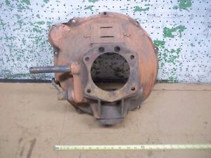 1929 Model A Ford Engine Transmission Clutch Cover Bell Housing 1928 1930 1931