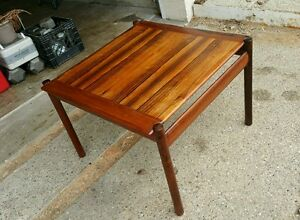 Dokka M Bler Norway Cocktail Table Mid Century Modern Rosewood Mobler Mcm Danish
