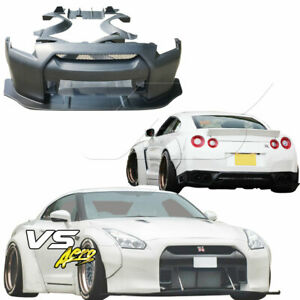 Vsaero Frp Lbpe Wide Body Kit For Nissan Gt R Gtr R35 09 17