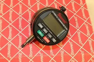 Starrett Wisdom Plus Digital Electronic Indicator 0 0 25 0 6mm 0 001 0 02mm