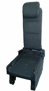 05 10 Oem Honda Odyssey 2nd Rear Row Middle Plus One Jump Seat Gray Cloth