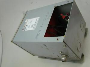 General Electric 5kva Transformer 9t21b1004g02 240 480hv 120 240lv