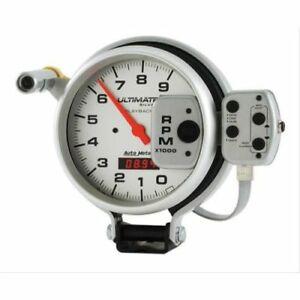 Auto Meter 6874 Ultimate Series Electric Playback Tachometer Gauge 0 9 000 Rpm