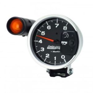 Auto Meter 233905 5 Autogage Shift Light Pedestal Tachometer 0 8 000 Rpm