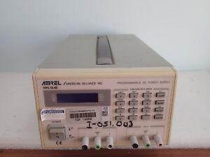 Warranty Amrel Pps 18 4d Dual Output Programmable Dc Power Supply American