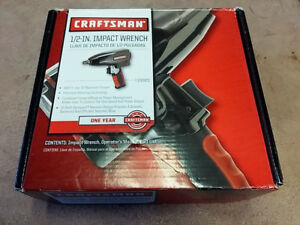 Craftsman 1 2 in Impact Wrench 19983 Free Ship