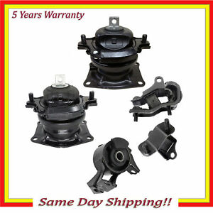 Engine Motor Transmission Mount For 2005 2006 Honda Odyssey 3 5l 5pcs I vtec