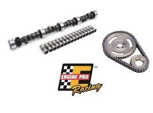 Chevy Sbc 350 Hp Rv Stage 3 443 465 Camshaft Lifters Adjustable Timing Chain Kit