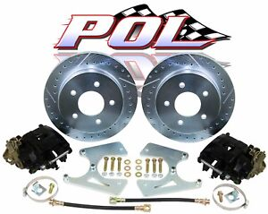 Gm 10 12 Bolt Rear Disc Brake Conversion Kit With Free Upgrades