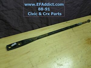 88 91 Honda Civic Hatch Crx Dx Si Oem Traction Bar Radius Rod Usdm