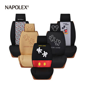 New Listing Napolex Disney Mickey Minnie Mouse Car Seat Cover Cushion