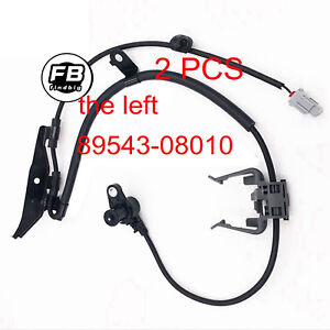 New Front Left Front Right Abs Wheel Speed Sensor For Toyota Sienna 2001 2003