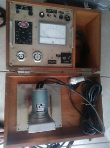 Odd Vintage Biddle Instruments Test Equipment Dunkermotor Tube Tester help Id