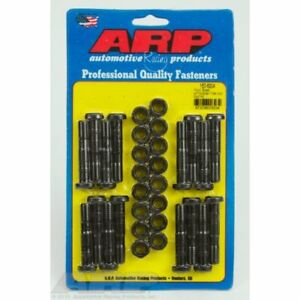 Arp 150 6004 Rod Bolt Kit Chrome Moly Black For Ford Boss With Football Heads