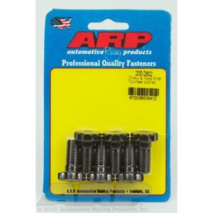 Arp 200 2802 Flywheel Bolt Kit Fits Chevy Ford 7 16 Thread Size Set Of 6