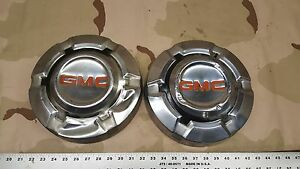 2 68 72 Gmc Pickup Truck Dog Dish Wheel Hub Caps Oem 1500