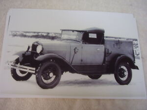 1930 1931 Ford Roadster Pickup Utility Body 11 X 17 Photo Picture