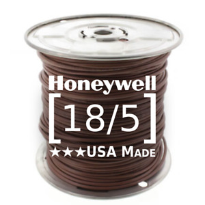 Honeywell Genesis 18 5 Thermostat Wire 250 Roll 4713 18 Awg 5 Solid Conductors