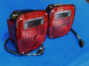 Gm Stepside Truck 1977 87 Tail Lamps Chevy Gmc 77 78 79 80 81 82 83 84 85 86 87