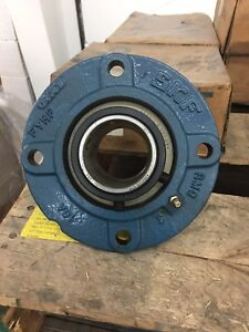Skf 4 bolt Flange Std Duty Piloted Spherical 2 Roller Bearing Fyrp 2 H