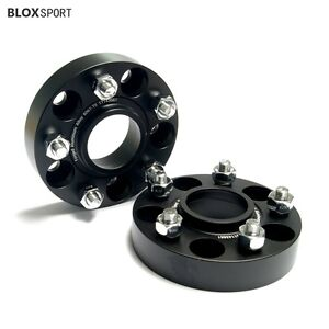 2pc 35mm 5x114 3 Wheel Spacers 5x4 5 Hubcentric For Mitsubishi Lancer Ford Probe
