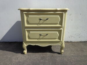 Nightstand Dresser French Provincial Bombe Bachelor Chest Neoclassical Furniture