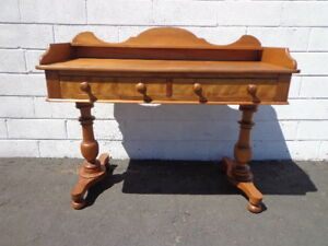 Desk Writing Table Vintage Vanity Colonial Boho Chic French Country Traditional