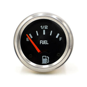 2 52mm Mechanical Auto Car Fuel Level Gauge Without Sensor E 1 2 F Pointer 12v