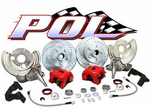 Performance Online 62 74 Mopar Dodge Plymouth Deluxe Disc Brake Conversion