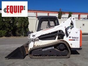 2013 Bobcat T590 Track Skid Steer Loader Auxiliary Hydraulics Rubber Tracks