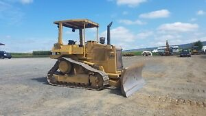 1993 Caterpillar D4h Series Ii Dozer pat diesel Tractor Bulldozer Machine Cat