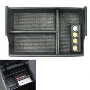 For Toyota Tundra Center Console Organizer With Coin Box 2007 2008 2009 2017