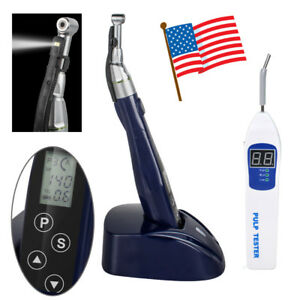 Cordless Dental Led Endodontic Endo Motor Treatment Reduction Angle Pulp Tester