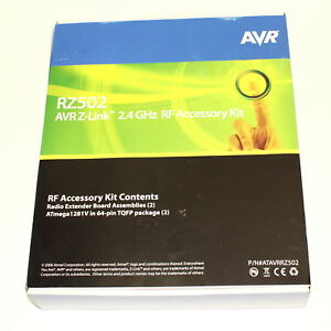 Atmel Atavrrz502 Rz502 2 4ghz Rf Accessory Kit New