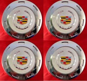 4pcs 2007 2014 Cadillac Escalade Colored Crest 22 Wheel Center Cap 9596649