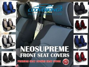 Coverking Neosupreme Custom Tailored Front Seat Covers For Nissan Titan