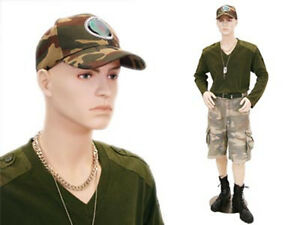 Male Mannequin Teenager Style Dress Form Display md steve