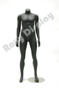 Female Fiberglass Headless Mannequin With Standing Pose md huskyfembb
