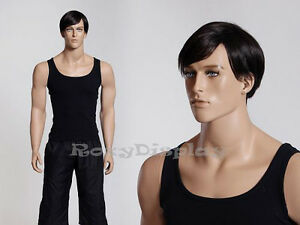 Male Fiberglass Realistic Mannequin Dress From Display ed mz