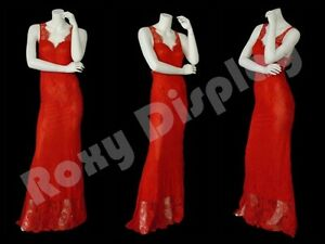 Female Fiberglass Headless Style Mannequin Dress Form Display md a6bw2