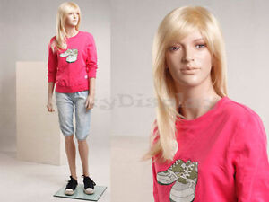 Child Fiberglass Mannequin Dress Form Display sk09 mz