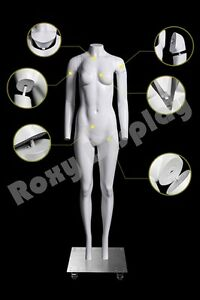 Female Invisible Ghost Mannequin Manikin Display Dress Form mz gh2 s