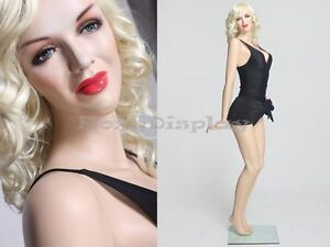 Sexy Female Fiberglass Mannequin Marilyn Monroe Style Dress Form mz monroe3