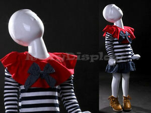 Child Fiberglass Abstract Mannequin Dress Form Display mz tom1