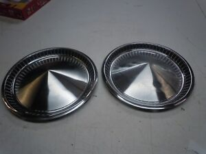 1957 59 Plymouth Wheel Covers Hubcaps 14 Mopar