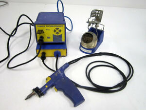 Hakko Fp 102 With Fm 2024 Desolder System With Holder And 599b Tip Cleaner