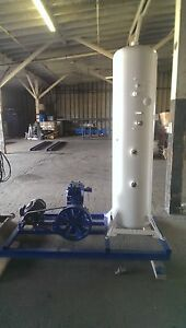 Quincy 240ng Compressor natural Gas On Skid